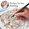 Arteza Fineliner Colored Pens Set, Inkonic, Fine Line, 0.44mm Tips, Assorted Colors - 72 Pack (ARTZ-8753) - image 4 of 4