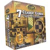 The Canadian Group Classic Games Wood 7 Classic Games Set | 3 Boards & 150 Game Pieces - image 3 of 3