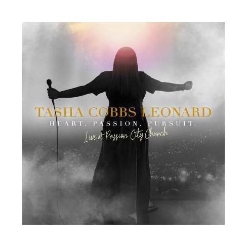 Tasha Cobbs Leonard - Heart. Passion. Pursuit.: Live At Passion City Church (CD) - image 1 of 1