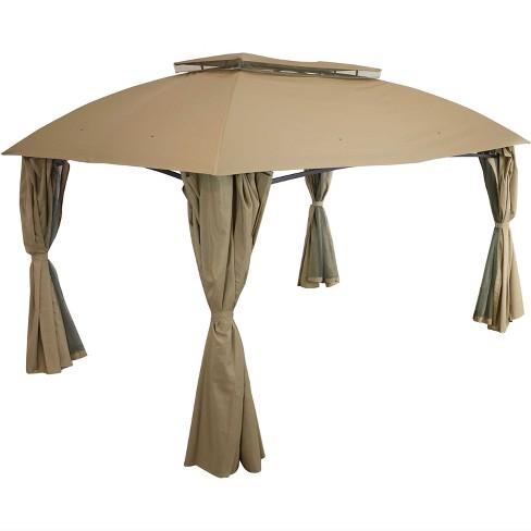 Sunnydaze Soft Top Rectangle Patio, Big Lots Outdoor Canopy Tent