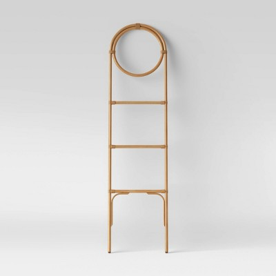 Rattan Leaning Towel Ladder Tan - Opalhouse™