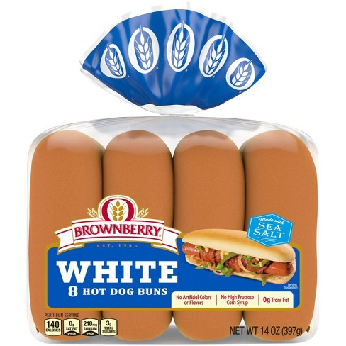 Brownberry White Hot Dog Buns - 8ct - image 1 of 4