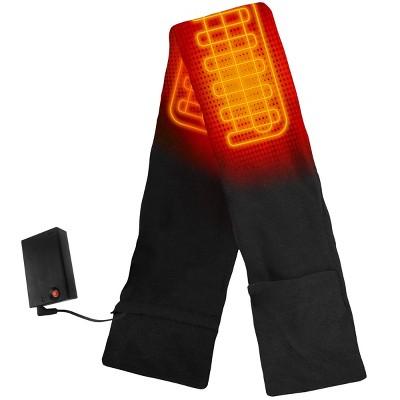 ActionHeat AA Battery Heated Scarf - Black