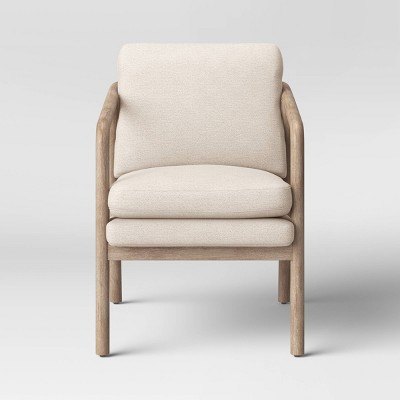 Tufeld Wood Armchair Beige - Project 62™
