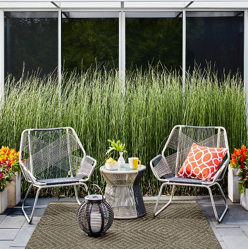 Carag 3pc Patio Chat Set Gray Project 62 Target