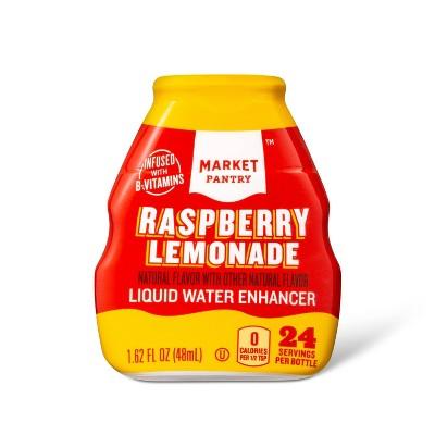 Raspberry Lemonade Liquid Water Enhancer - 1.62 fl oz Bottle - Market Pantry™