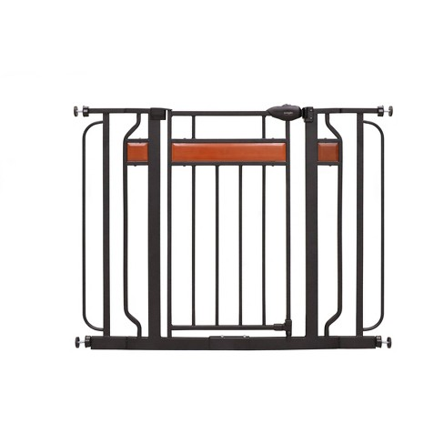 Regalo Extra Wide Home Accents Metal Walk -Through Baby Gate - image 1 of 2
