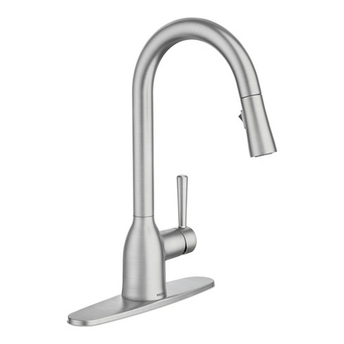 Moen 87233 Adler 1 5 Gpm Single Hole Pull Down Kitchen Faucet Spot Resist Stainless Target