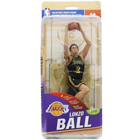 huge selection of cc72a 87e9a LA Lakers McFarlane NBA Series 32 Action Figure: Lonzo Ball (Black Jersey  Variant)