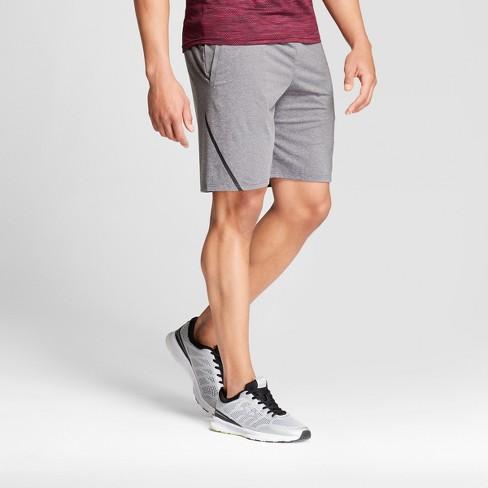 8453eb92d58c Men s Premium Taped Shorts - C9 Champion® Charcoal Gray Heather S ...