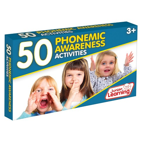 Junior Learning 50 Phonemic Awareness Activities Learning Set - image 1 of 3