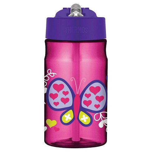 Thermos Kids Water Bottle Straw 12 Oz - Butterfly   Target 7c7307e3d624