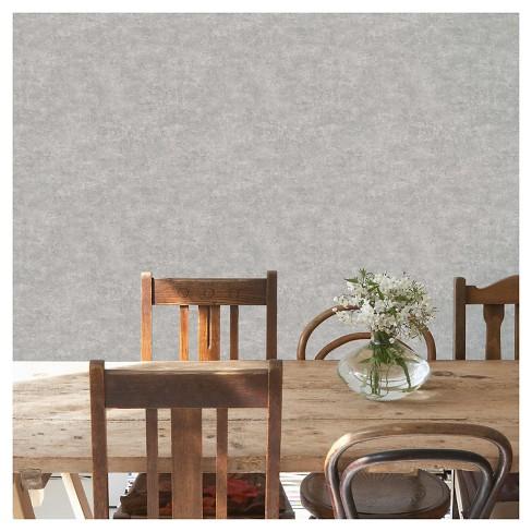 Devine Color Textured Concrete Peel Stick Wallpaper Mirage