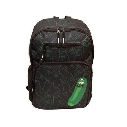 """Rick and Morty 18"""" Backpack - Black - image 1 of 6"""