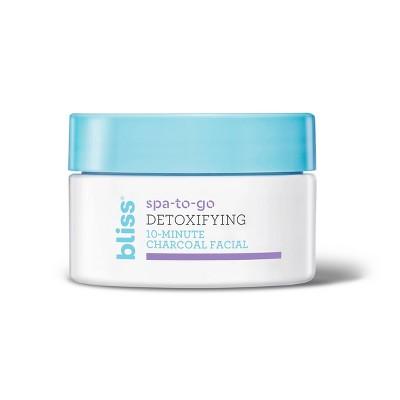 bliss Detoxifying Charcoal Facial - 0.5 fl oz
