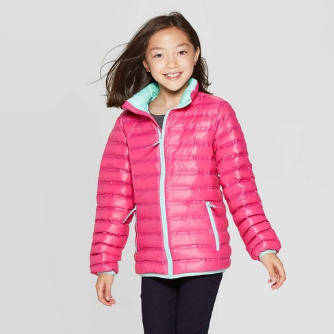 Girls' Down Midweight Puffer Jacket Cat & Jack</p>                     </div>                     <!--bof Product URL -->                                         <!--eof Product URL -->                     <!--bof Quantity Discounts table -->                                         <!--eof Quantity Discounts table -->                 </div>                             </div>         </div>     </div>              </form>  <div style=
