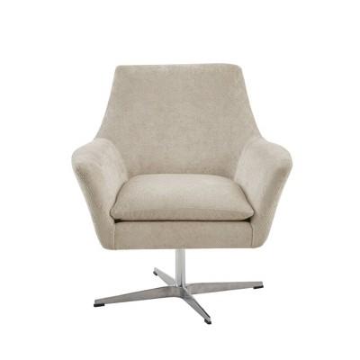 Nigel Swivel Chair Light Taupe