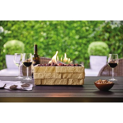 Chisholm Outdoor Tabletop Fireplace - Tan - Threshold™