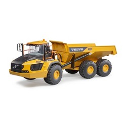 Bruder Toys Volvo A60H Articulated Hauler - 1:16 Scale