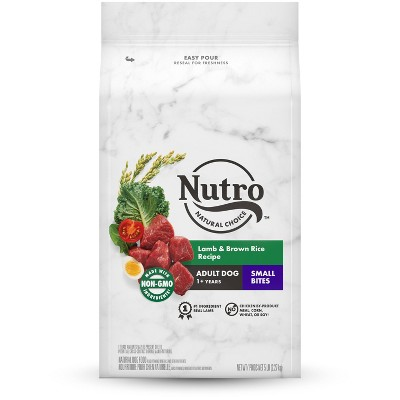 Nutro Wholesome Essentials Small Bites Lamb & Rice Recipe Adult Dry Dog Food - 5lbs