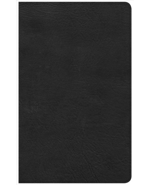Holy Bible : Christian Standard Bible, Ultrathin Reference Bible, Black Leathertouch, Indexed - image 1 of 1