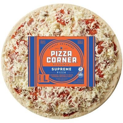 Pizza Corner Supreme Frozen Pizza - 30oz
