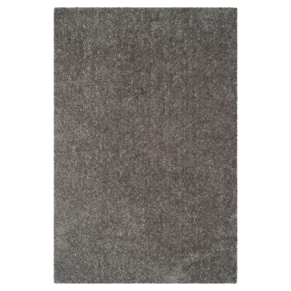 Silver Solid Loomed Area Rug - (6'X9') - Safavieh
