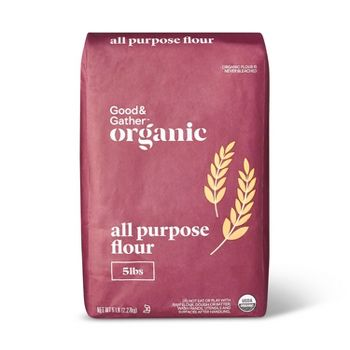 Good & Gather Organic Flour 5LB