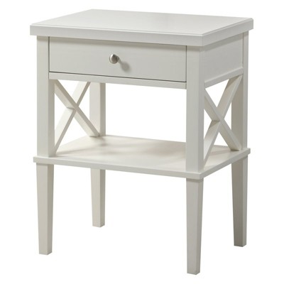 Marta Nightstand in White - Comfort Pointe