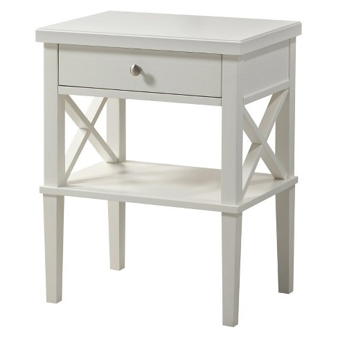 Marta Nightstand in White - Comfort Pointe  - image 1 of 4