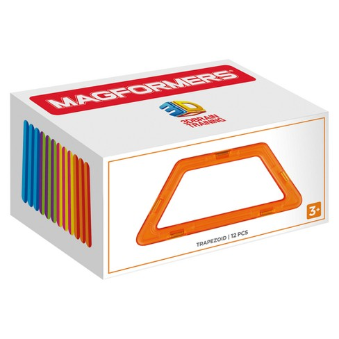 Magformers Trapezoid Building Set - 12pc - image 1 of 2