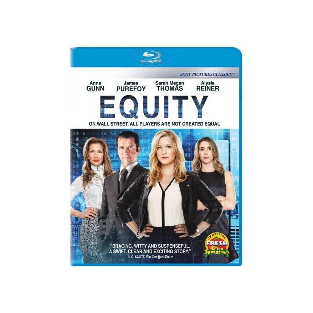 Equity Blu Ray