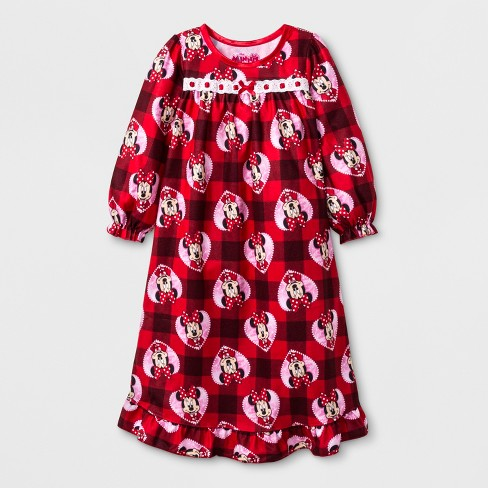 3f6d055ffe Toddler Girls  Minnie Mouse Granny Gown - Red 2T   Target
