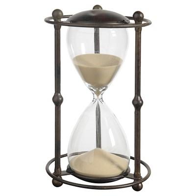 Decorative Hourglass Figurine - Tan