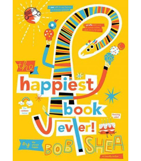 Happiest Book Ever (School And Library) (Bob Shea) - image 1 of 1