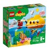 LEGO DUPLO Submarine Adventure 10910 Bath Toy Building Set for Toddlers with Toy Submarine 24pc - image 4 of 4