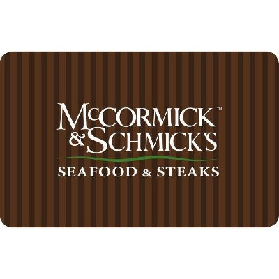 MCCORMICK & SCHMICKS SEAFOOD Gift Card (Email Delivery)