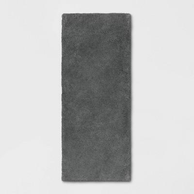 "24""x60"" Bath Rug Dark Gray - Threshold Signature™"