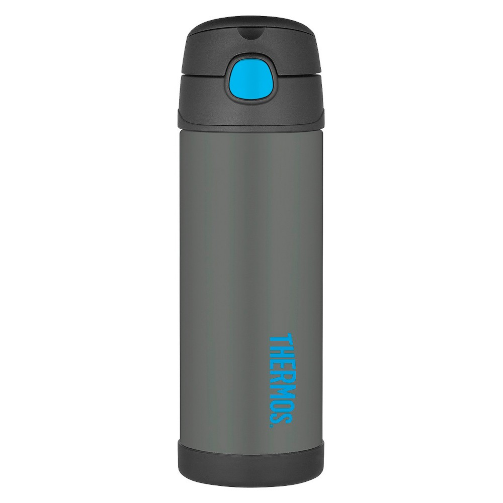 Low Price Thermos 16oz Funtainer Bottle With Spout Smoke Grey Gray