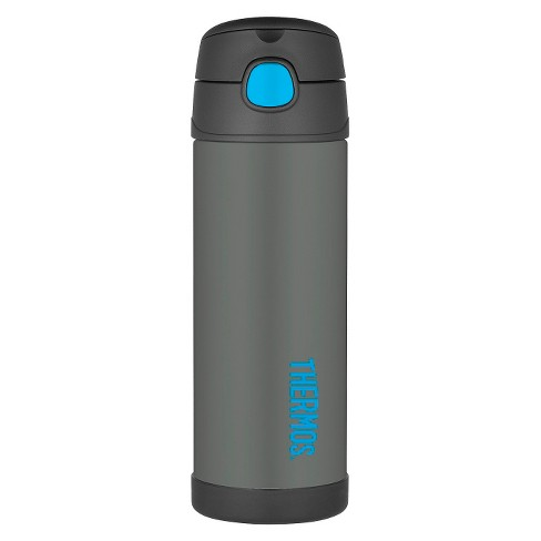 Thermos 16oz FUNtainer Water Bottle with Spout - Smoke Gray - image 1 of 4