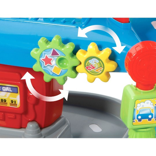 VTech Go! Go! Smart Wheels Tow and Go Garage image number null