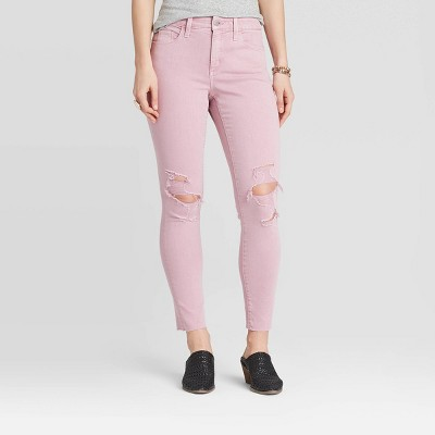 Women's High-Rise Skinny Ankle Jeans - Universal Thread™