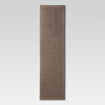 Chevron Washable Runner - Gray (1'10 x7')- Threshold™