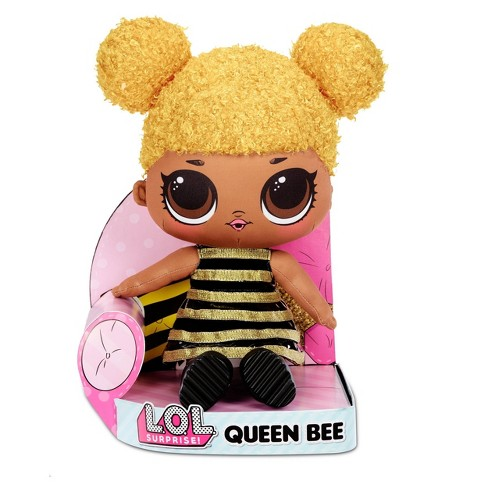 L O L Surprise Queen Bee Huggable Soft Plush Doll Target