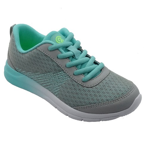 Girls' Limit 2.1 Performance Sneakers - C9 Champion® Gray/Teal 2 - image 1 of 3