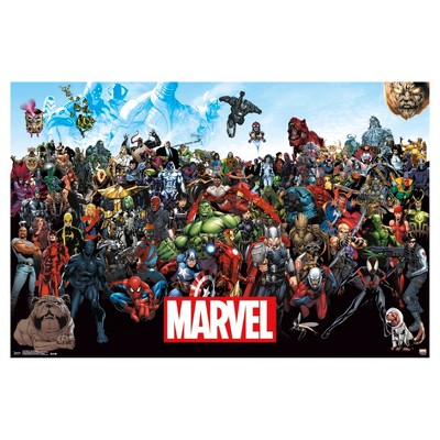 Marvel The Lineup 15 Poster 34x22 - Trends International