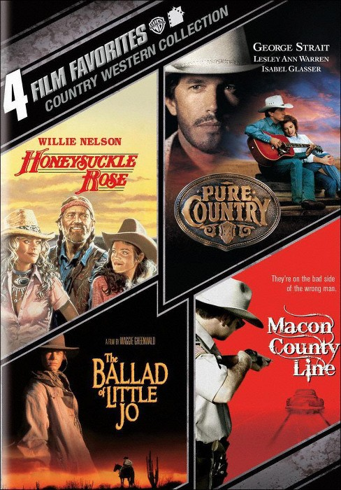 4 film favorites:Country westerns (DVD) - image 1 of 1