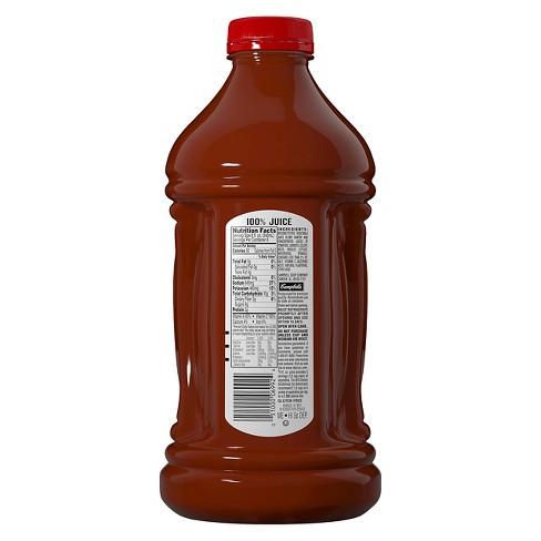 V8 Original 100 Vegetable Juice 64 Fl Oz Bottle Target