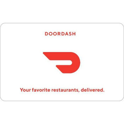 DoorDash Gift Card $25 (Email Delivery)