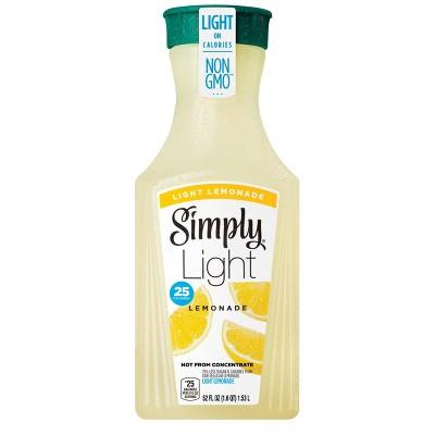 Simply Light Lemonade Juice Drink - 52 fl oz